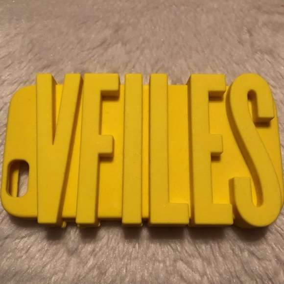 VFILES Other - 🌟vfiles yellow silicone iphone case🌟